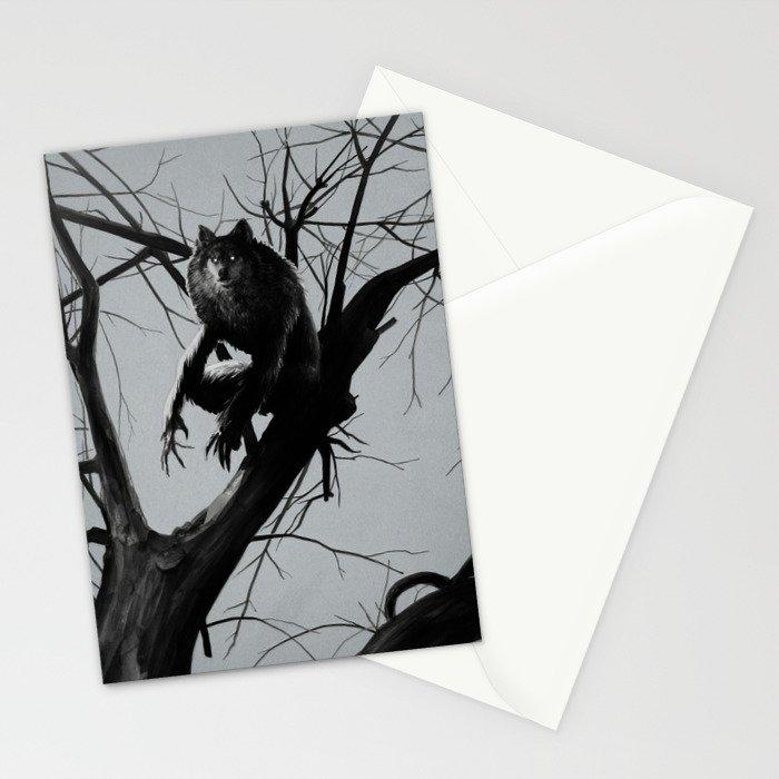 Werewolf Stationery Cards
