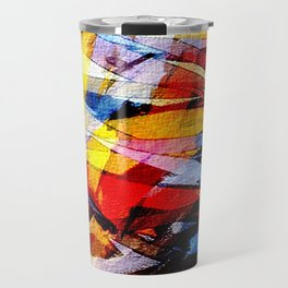 abstrakt 53 color Travel Mug