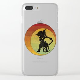 Wayang Puppet Asian Indonesia Theatre Tribal Cultural Art Clear iPhone Case
