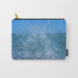 Lake Michigan Natural Fountains #2 (Chicago Waves Collection) Carry-All Pouch