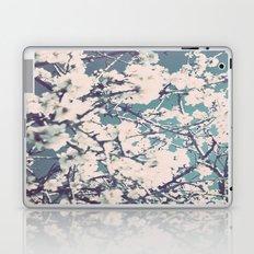 spring mediterranean almond flowers Laptop & iPad Skin