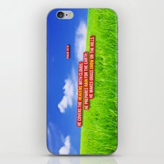 On the Hills iPhone & iPod Skin