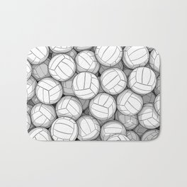 All I Want To Do Is Volleyball Bath Mat