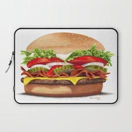 Bacon Cheeseburger by dana alfonso Laptop Sleeve