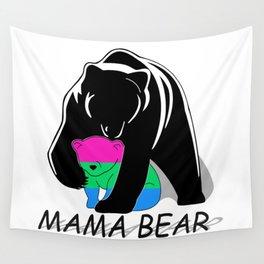 Mama Bear Polysexual Wall Tapestry