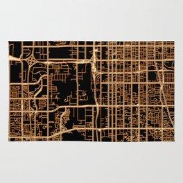 Salt Lake City map Rug
