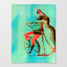 BUNNY HOP Canvas Print