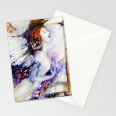 dreaming angel  Stationery Cards