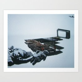 u3000-5 Art Print