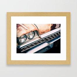 ranchero rust 1 Framed Art Print