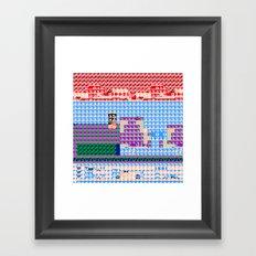 > NES v3 Framed Art Print
