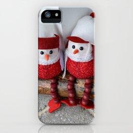 Snow Birds iPhone Case