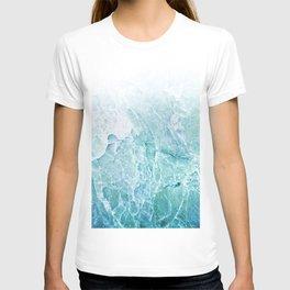 Sea Dream Marble - Aqua and blues T-shirt