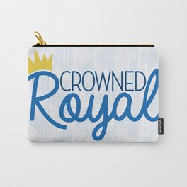 Crowned Royal Carry-All Pouch