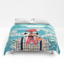 Walrus and the paper boats Comforters