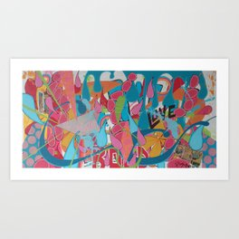 Bedfellows Art Print