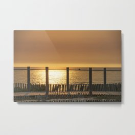 late afternoon in the dunes Metal Print
