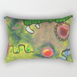 La Vida Rectangular Pillow