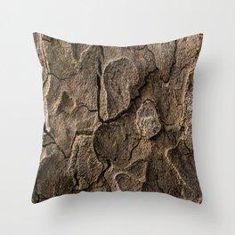 Bark 2 Throw Pillow