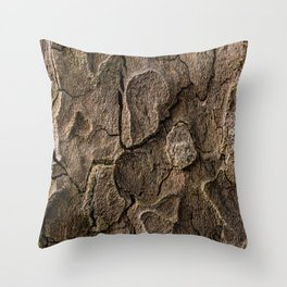 Bark 2 Throw Pillow