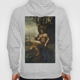 "Leonardo da Vinci ""Bacchus, formerly Saint John the Baptist"" Hoody"