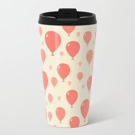 Red Balloons Travel Mug
