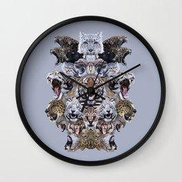 Team Kitty Wall Clock