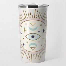 Magical Sun - tarot illustration Travel Mug
