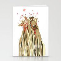 tangled Stationery Cards featuring Tangled by Julia Kisselmann