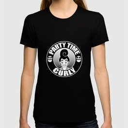 PARTY TIME - Curly T-shirt