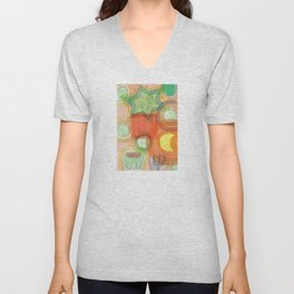 Various Things lit by the Moon Unisex V-Neck