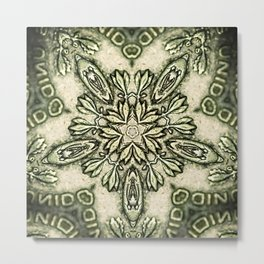 Cinco Peso Metal Print