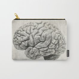 Brain Drawing Carry-All Pouch