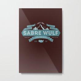 Sabre Wulf Metal Print