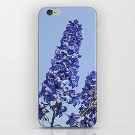 blue blue blue IV iPhone Skin