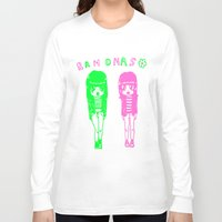 ramones Long Sleeve T-shirts featuring Ramonas by IvyPowers