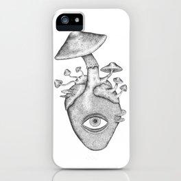 Eye Heart Shrooms iPhone Case