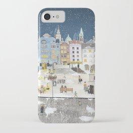 Bielsko Biala Street view iPhone Case