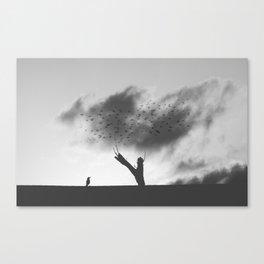 embrace the struggle Canvas Print
