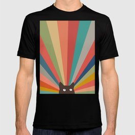 Cat Landscape 48 T-shirt