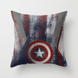 Call Me Captain Throw Pillow