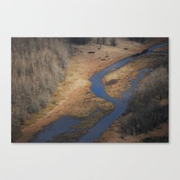 A detour in life Canvas Print