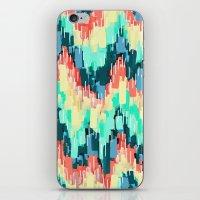 rush iPhone & iPod Skins featuring Rush by Jacqueline Maldonado