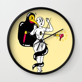 Let the leeches be our teachers! Wall Clock