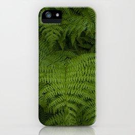 Dark Ferns iPhone Case