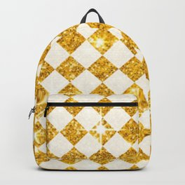 gold checkers Backpack