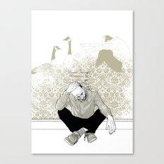 come find me - popshot magazine  Canvas Print