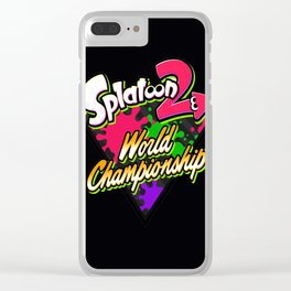 splatoon2 Clear iPhone Case