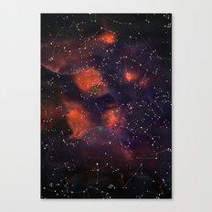 Le Cosmos Canvas Print