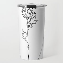 Feminine Floral Back Tat V2 Travel Mug
